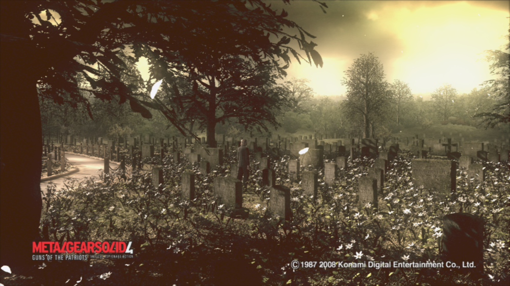 METAL GEAR SOLID 4- CEMETERY