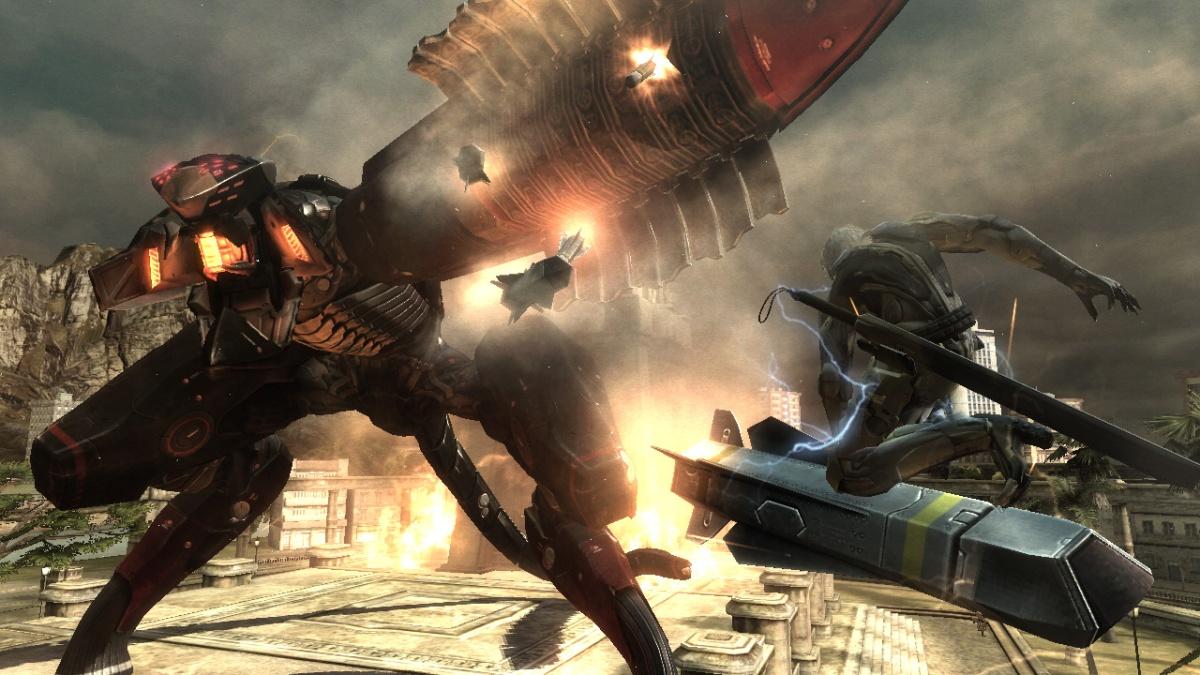 Metal Gear Rising: Revengeance: Cut Off at theKnees