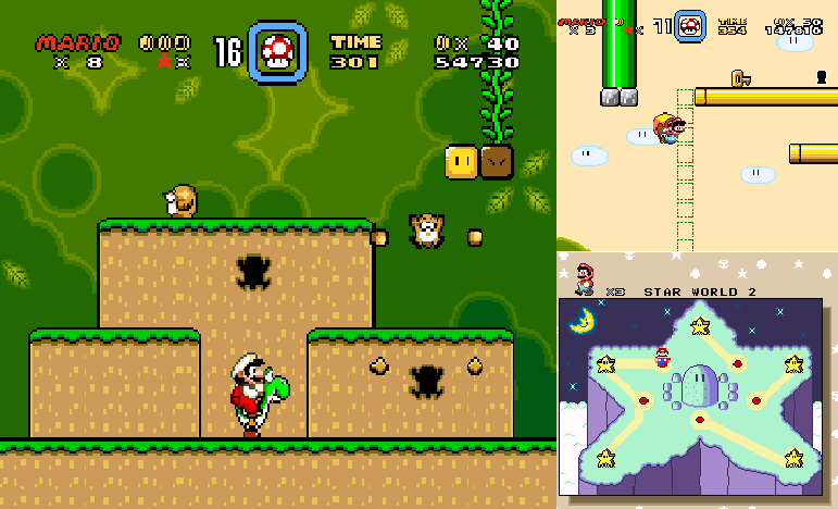 A Super Mario World: Exploring Dinosaur Land Through Play