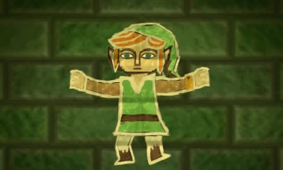 THE LEGEND OF ZELDA- A LINK BETWEEN WORLD'S PAINTED LINK