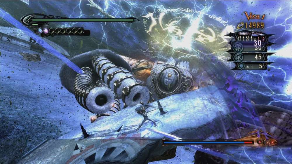 BAYONETTA- BOSS FIGHT