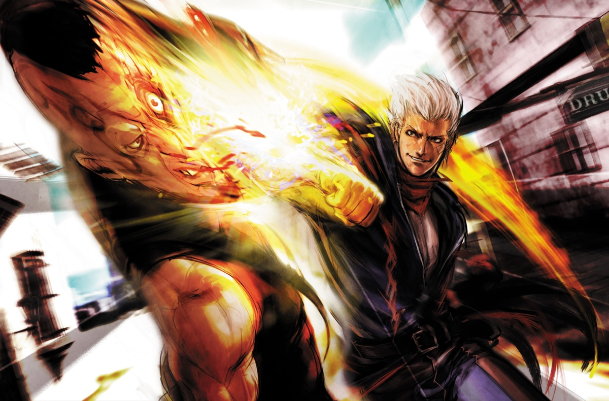 With the Awesome Might of God Hand, I SmiteThee