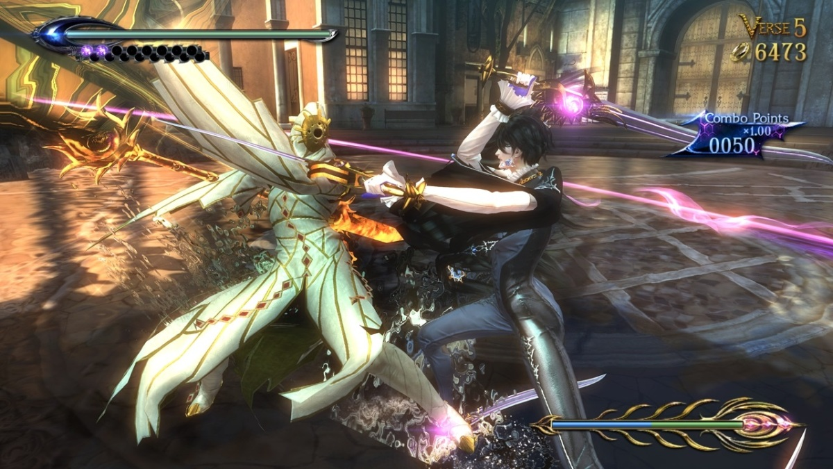 Bayonetta's Leg-Swinging, Face-Breaking Encore