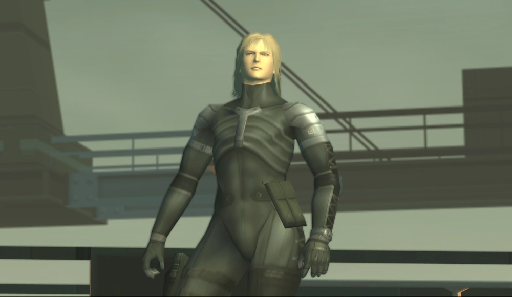 METAL GEAR SOLID 2- RAIDEN