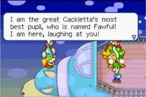 MARIO & LUIGI- SUPERSTAR SAGA FAWFUL INTRO
