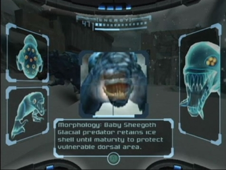 metroid prime- morphology