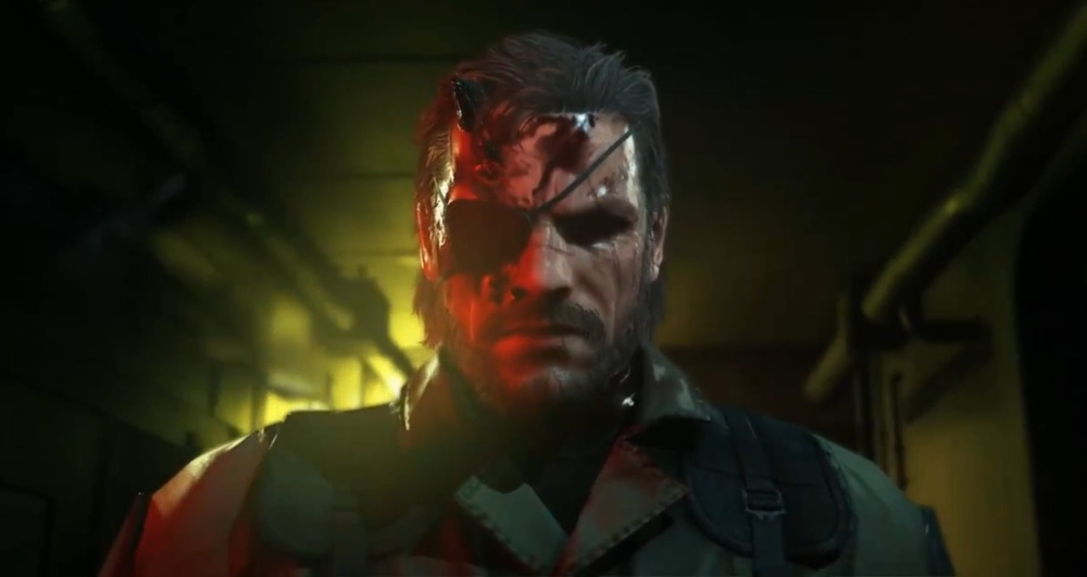 METAL GEAR SOLID V- BIG BOSS BAD