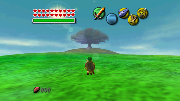 THE LEGEND OF ZELDA- MAJORA'S MASK FIELD