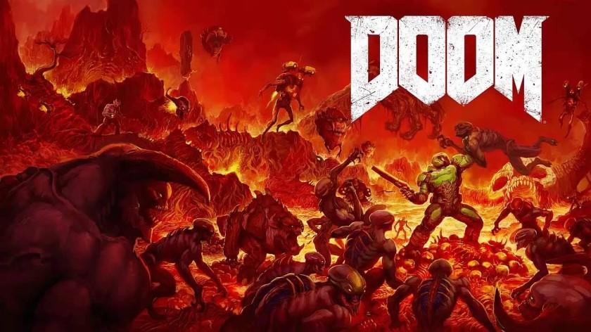 DOOM 2016- COVER