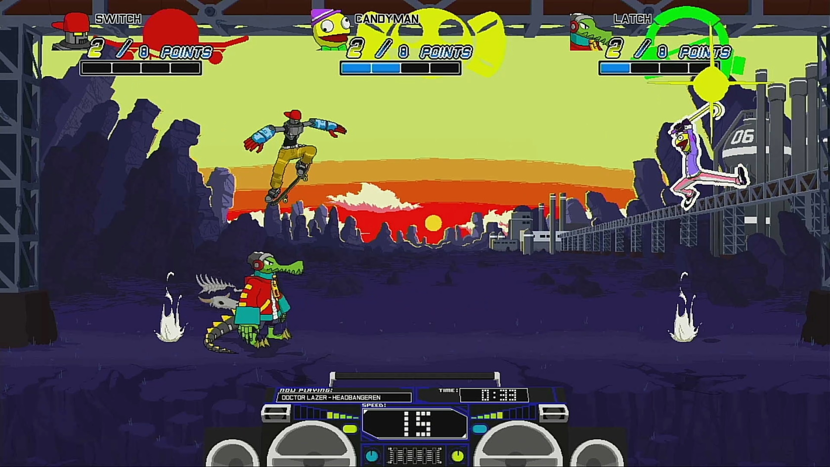 Lethal League - Three Way Fight
